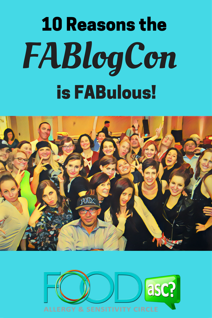 10 Reasons the FABlog Con is FABulous! via FoodASC