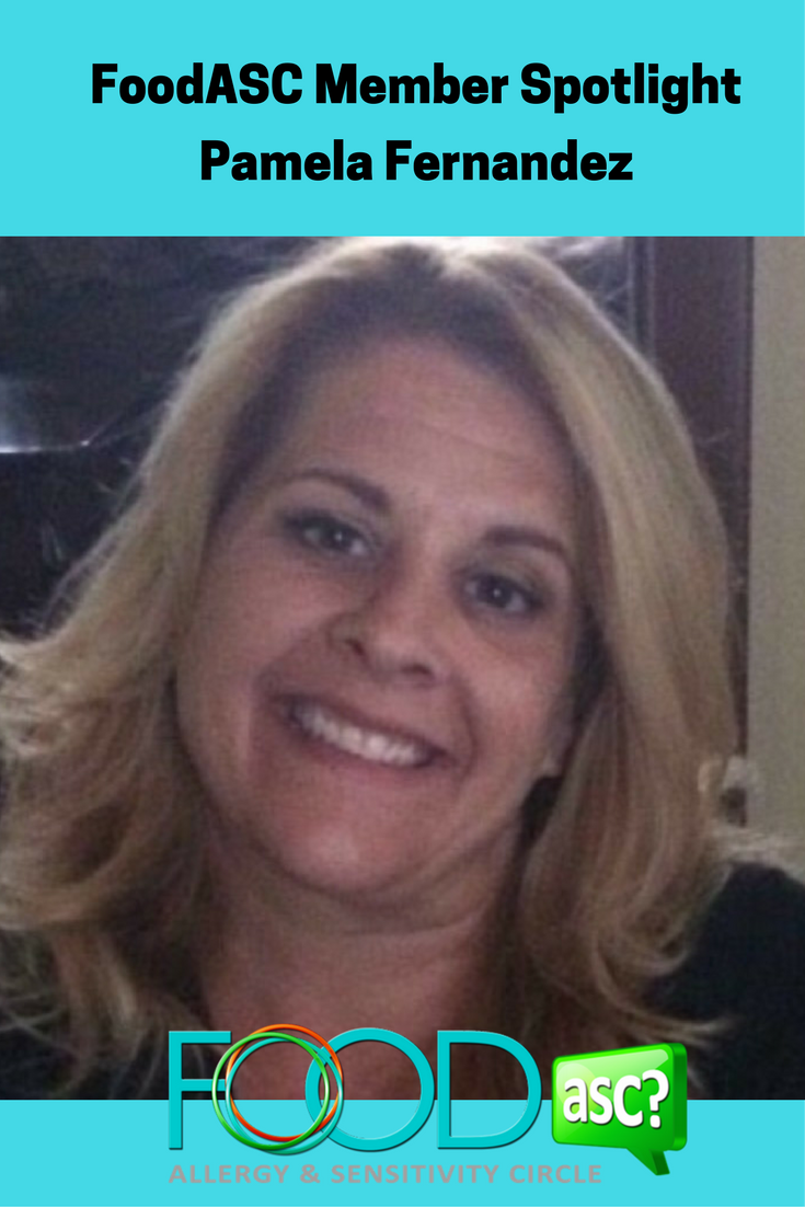 FoodASC Member Spotlight- Pamela Fernandez Co-Founder Navigating Food Allergies, Support Group Leader NNMG and most importantly mom via @FoodASC
