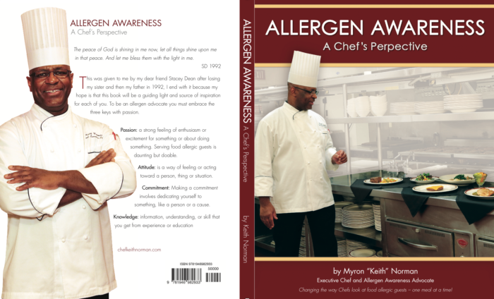 Chef Keith's book