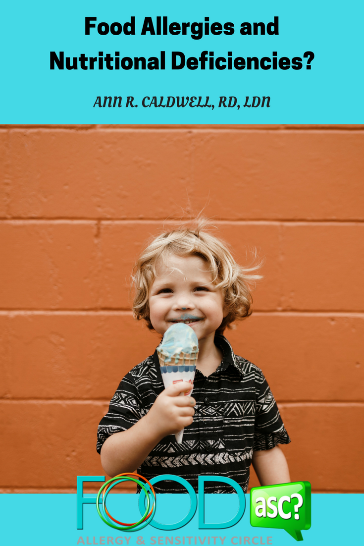Are your kids' food allergies causing nutritional deficiencies? Do your children need to see a dietitian? How do you find a reputable dietitian if needed? Ann R. Caldwell, RD, LDN shares valuable  insight via @FoodASC