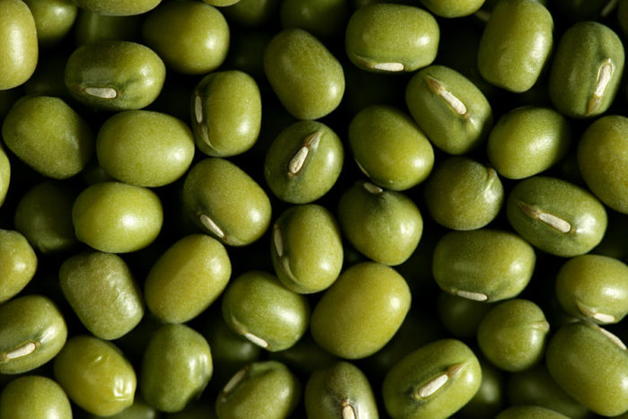 Green-soy-beans