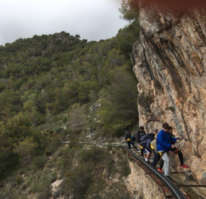 Cliffside hike in Pampaneira.
