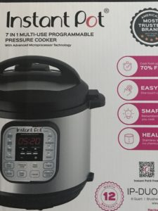 Instant Pot DUO60 6 Qt 7-in-1 Multi-Use Programmable Pressure Cooker, Slow Cooker, Rice Cooker, Steamer , Sauté, Yogurt Maker and WarmerInstant Pot and allergy friendly and gluten-free recipes