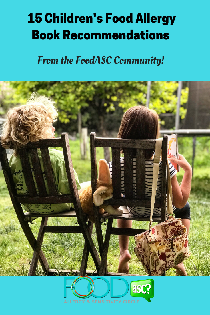 15 Children\'s Food Allergy Book Recommendations from the FoodASC Community!